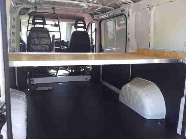 Bodenplatten für Transporter