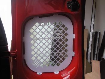 Fensterschutzgitter für Transporter